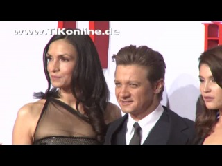"Famke Janssen, Jeremy Renner, Gemma Arterton, Pihla Viitala @ ""Hansel and Gretel: Witch Hunters"" Germany premiere"